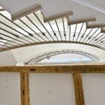 indoor metal railings
