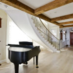 indoor metal stair railings