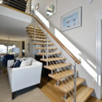 custom stair railing for home