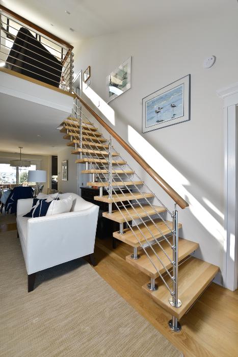 custom stair railing for home