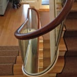 glass staircase for home