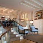 modern glass stair railing