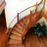 Delaware wood staircase project