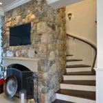 stone harbor wooden staircase installation